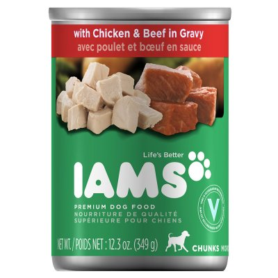 Food For Dogs, Chunks in Gravy with Chicken