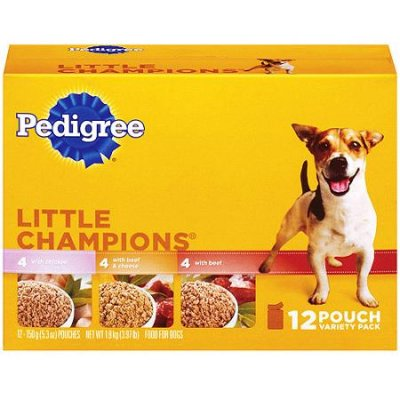 Food For Dogs, Little Champions, Variety Pack