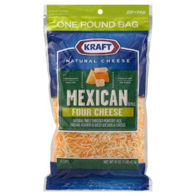 Mexican Style Four Cheese