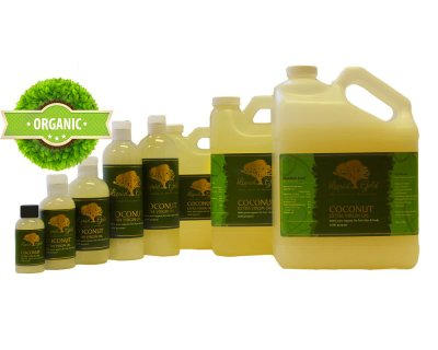 Organic Coconut Oil, 100% Pure