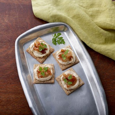 Spreadable Cheese Wedges, Light, Creamy Swiss