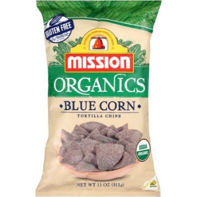 Multigrain Snack Chips, Summertime Blues, Organic