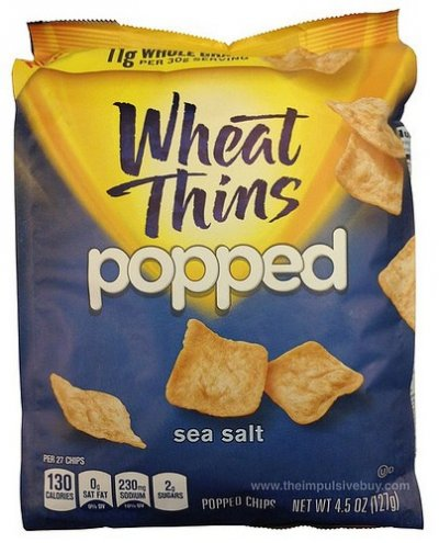 Wheat Thins Popped Chips, Sea Salt