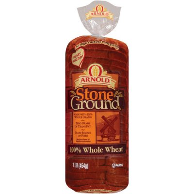 Bread, Stoneground 100% Whole Wheat