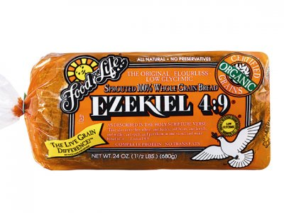 Organic Bread Sprouted Whole Grains