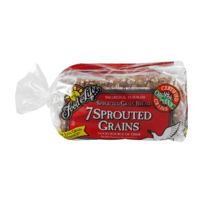 Organic Sprouted 8 Grain Bread