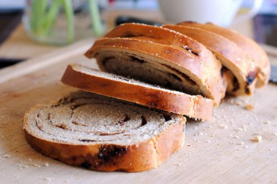 Raisin Cinnamon Whole Wheat Bread