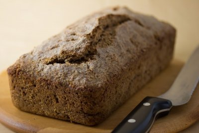 Sprouted Flourless Whole Wheat Berry Bread