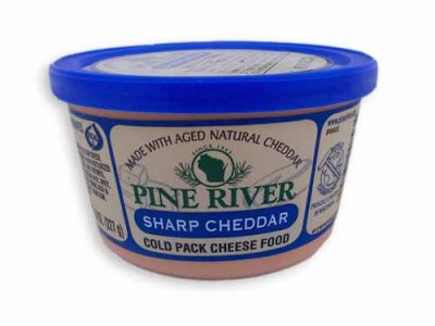 Cheese Food, Sharp Cheddar, Cold-Pack