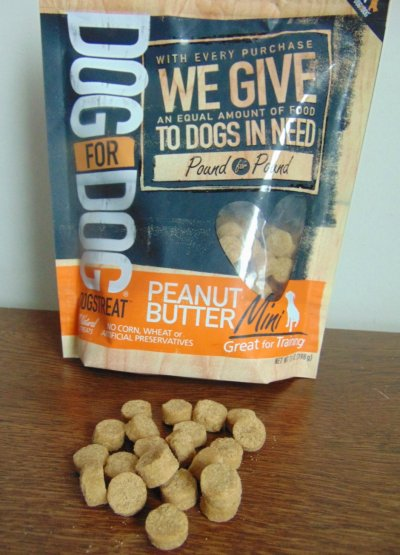 Dogstreat Peanut Butter, All Natural Dog Treats