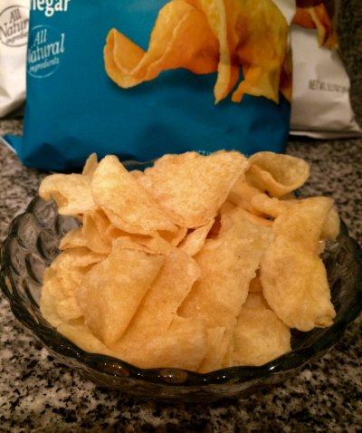 Potato Chips, Reduced Fat, Family Size