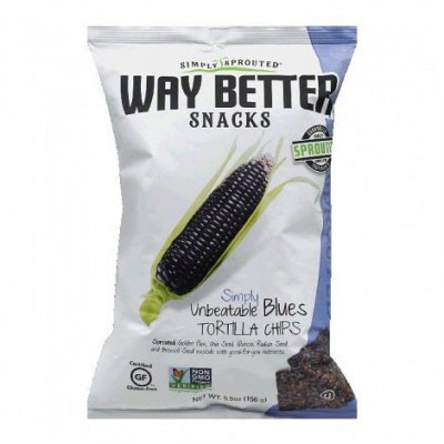 Way Better Snacks - Tortilla Chips, Simply Unbeatable Blues