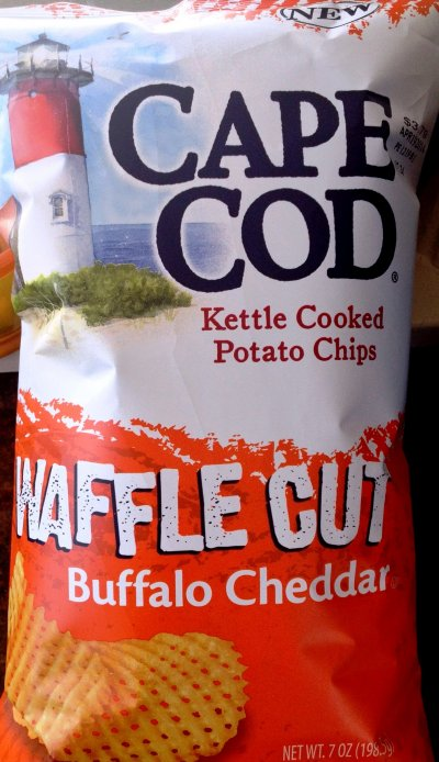 Kettle Cooked Potato Chips, Waffle Cut Buffalo Cheddar