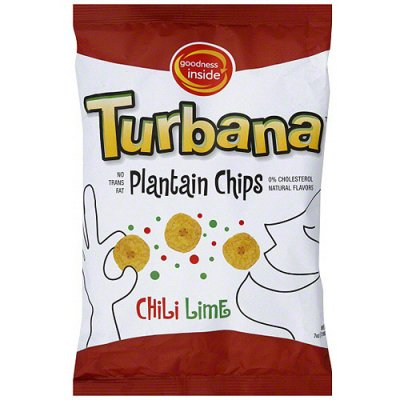 Plantain Chips, Lime