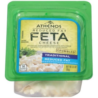 Reduced Fat, Feta Cheese Crumbles
