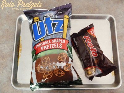 Football Game Shaped Pretzels