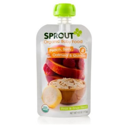 Organic Fruit & Grain Baby Food