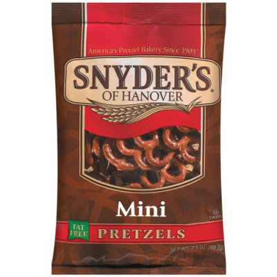 Pretzels, Mini, Fat Free