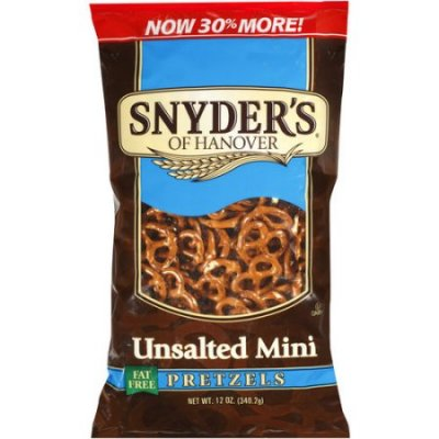 Unsalted Mini Pretzels