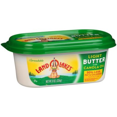 Butter, Spreadable, with Canola Oil