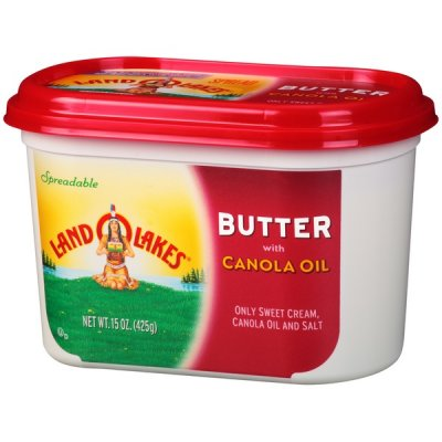 Spreadable Butter, with Canola Oil