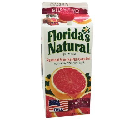 100% Pure Ruby Red Grapefruit Juice