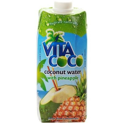 Pure Organic Coconut Water With Pineapple