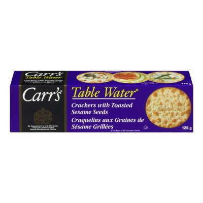 Table Water Crackers, With Cracked Pepper