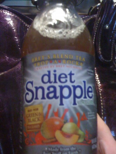 diet Snapple - Bret's Tea Blend