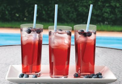 Frut Dazzle Water Beverage with a hint of Black Cherry Flavor