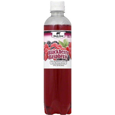 Sparkling Water Beverage, Raspberry Blackberry