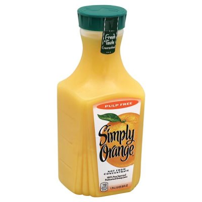 100% Pure Squeezed Orange Juice