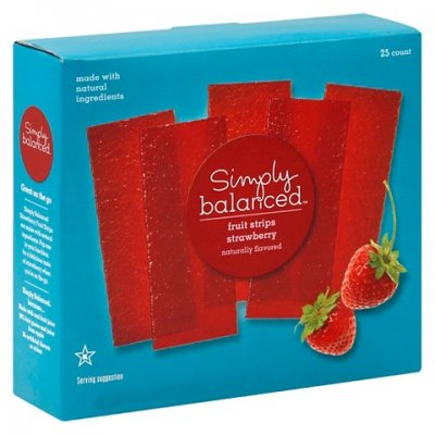 Fruit Strips Strawberry, Apricot And Wild Berry Flavored, Variety Pack