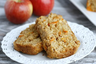 Honey Apple Oat Bread