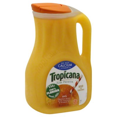 100% Florida Pasteurized Orange Juice Calcium & Vitamin D