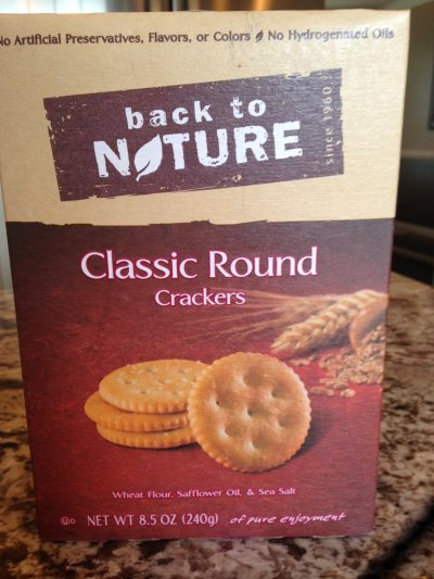 100% Natural Classic Round Crackers