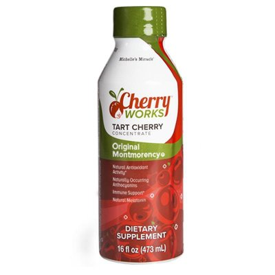 100% Tart Montmorency Cherry Concentrate