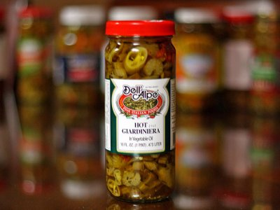 Green Pickled Serrano Peppers