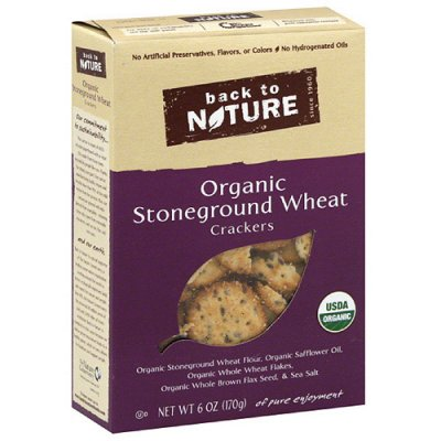 Stone Ground Wheat Crackers, Original
