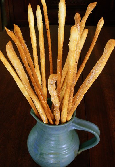 Breadsticks, Thin, Grissini Torinese Style