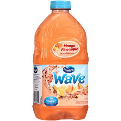 Wave, Mango, Pineapple With White Cranberries Juice