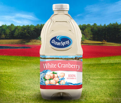 White Cranberry Juice Drink