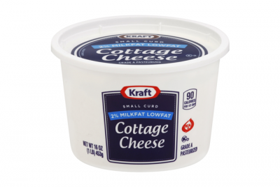 Cottage Cheese, Small Curd, 4% Milkfat Min.