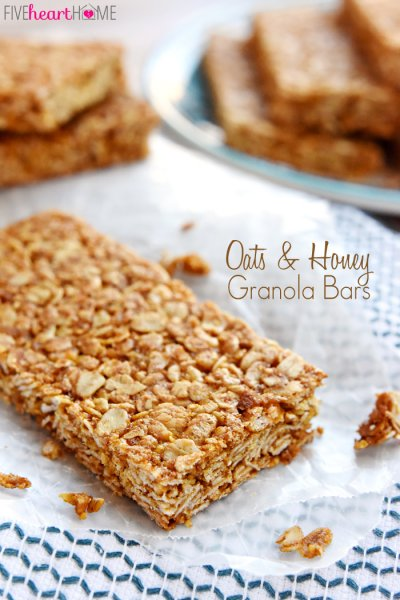 Oats & Honey Chewy Granola Bars