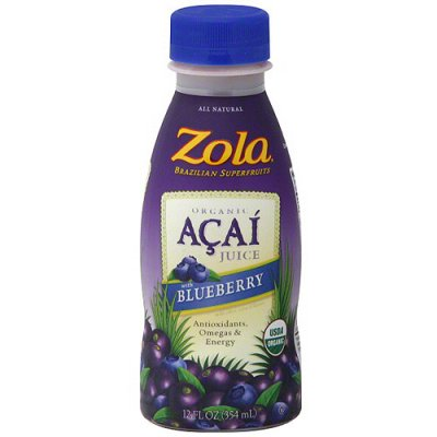 Organic Blueberry Acai Juice