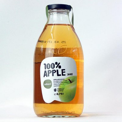 100% Apple Juice, Not from Concentrate