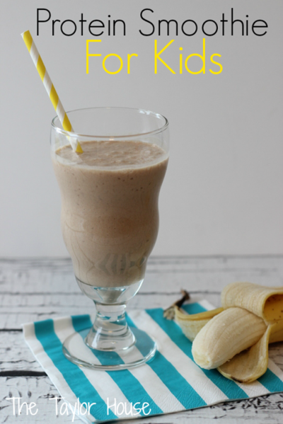 Protein Chocolate + Almond + Coconut Milk Smoothie