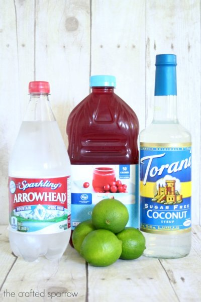 Coconut Sparkling Water With Juice