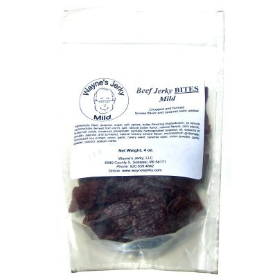 Grass Fed Beef Jerky, Natural Smoke Flavor Added