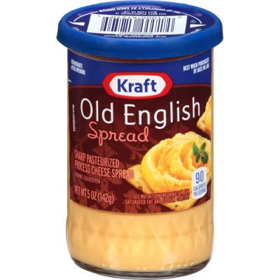 Cheese Spread, Sharp Pasteurized Process, Old English